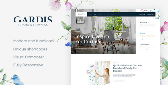 Gardis | Blinds and Curtains Studio & Shop - Business Corporate