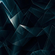 Dark Blue Tech Polygonal Background - GraphicRiver Item for Sale