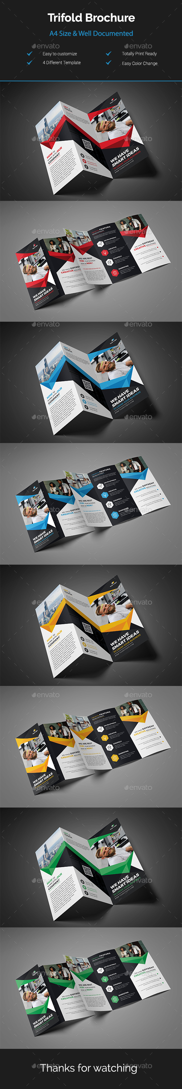 GraphicRiver Trifold Brochure 20918608