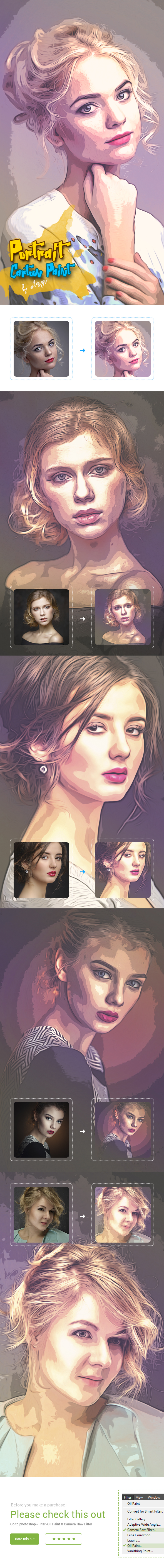 GraphicRiver Portrait Cartoon Paint 20918629