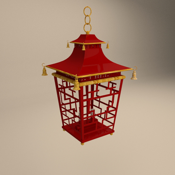 Chinese lantern - 3DOcean Item for Sale