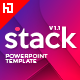 Stack PowerPoint Template - GraphicRiver Item for Sale