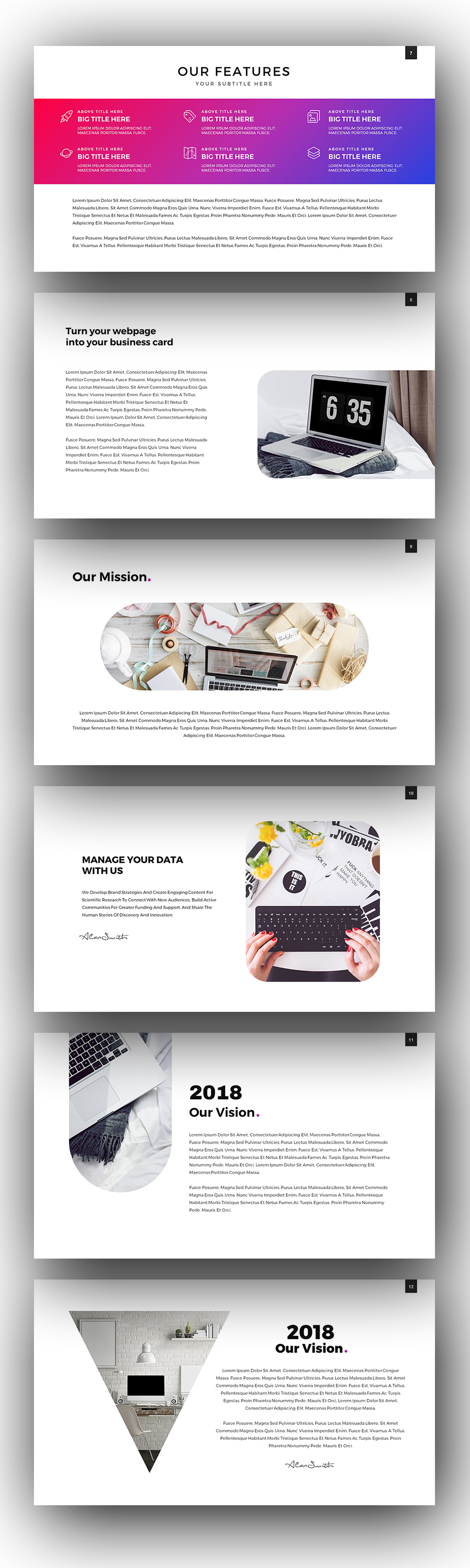 Stack Google Slides Template by Hemalaya1 | GraphicRiver
