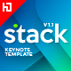 Stack Keynote Template - GraphicRiver Item for Sale