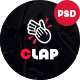 Clap - Event, Meeting & Conference PSD Template