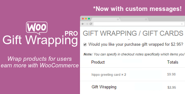 CodeCanyon Gift Wrapping PRO for WooCommerce 20873595