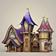 Game Ready Fantasy King House - 3DOcean Item for Sale
