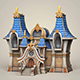 Game Ready Fantasy Church - 3DOcean Item for Sale