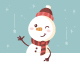 Snowman Banner - GraphicRiver Item for Sale