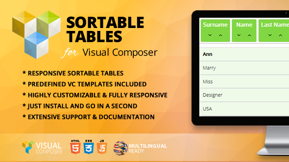 Download Source code              Sortable Tables Addon for Visual Composer            nulled nulled version