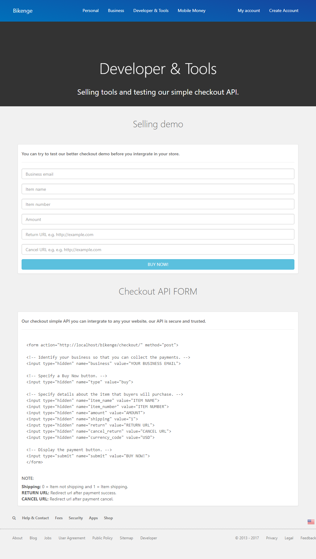 BIKENGEPESA - ONLINE PAYMENT SYSTEM by BIKENGE   CodeCanyon