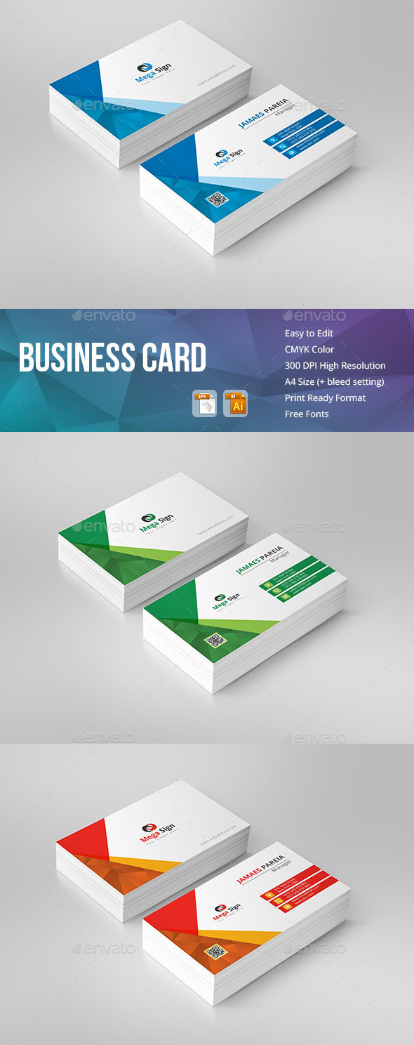 GraphicRiver Business Card 20919090