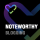 Noteworthy - Beautifully Minimal WordPress Theme for Writers & Bloggers