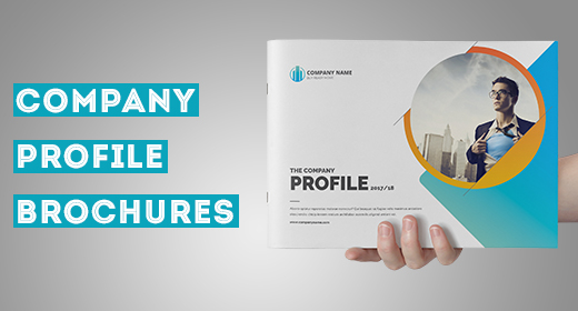 Company Profile Landscape Brochure