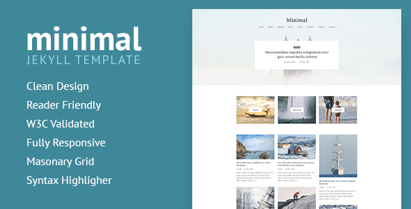 Download Minimal - Responsive Jekyll Theme            nulled nulled version