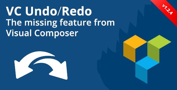Visual Composer Undo/Redo - CodeCanyon Item for Sale