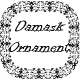 Damask Ornament Brushes -  Oriental Motive Adobe Illustrator Brushes