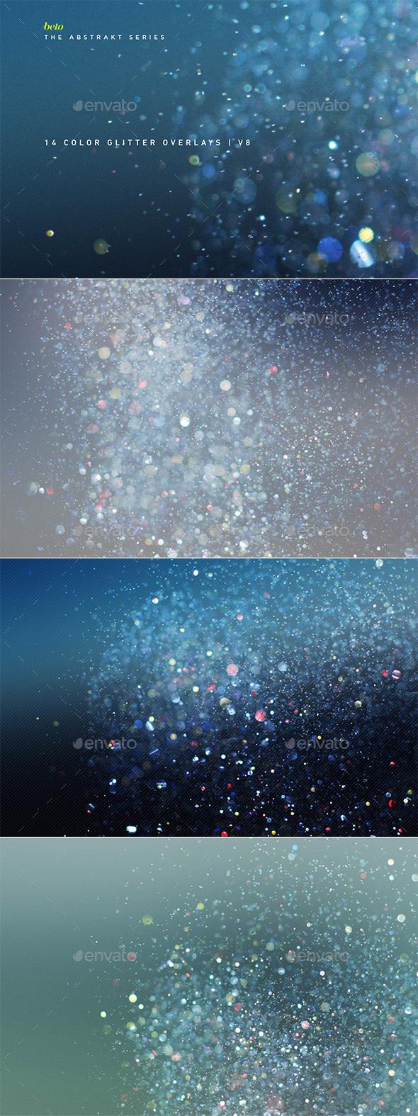 GraphicRiver Color Glitter Overlays V8 20919791