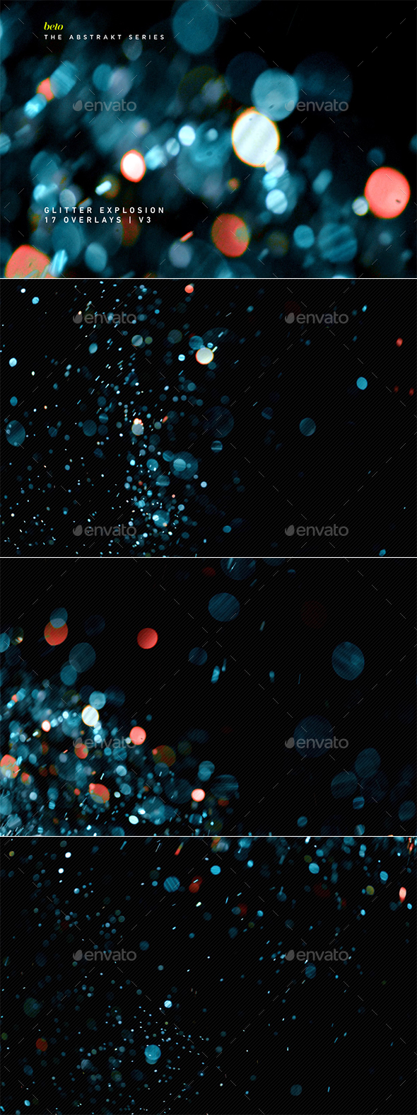 Glitter Explosion V3 - Abstract Backgrounds