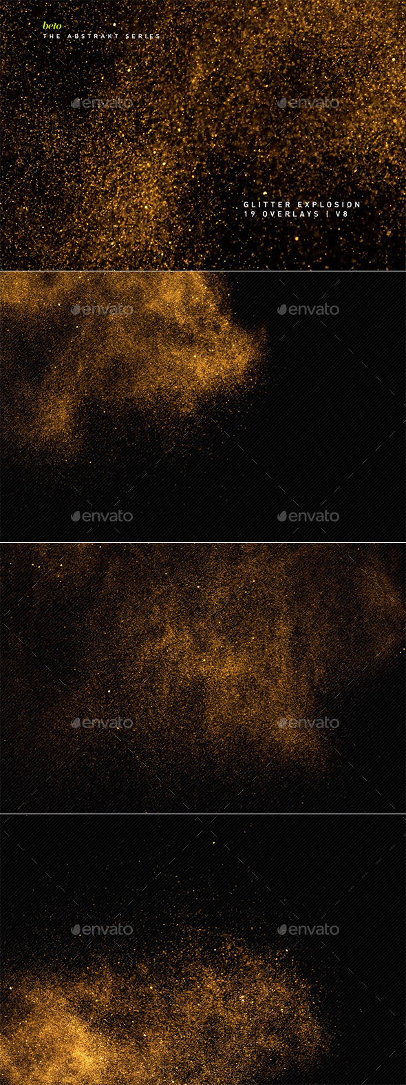Glitter Explosion V8 - Abstract Backgrounds