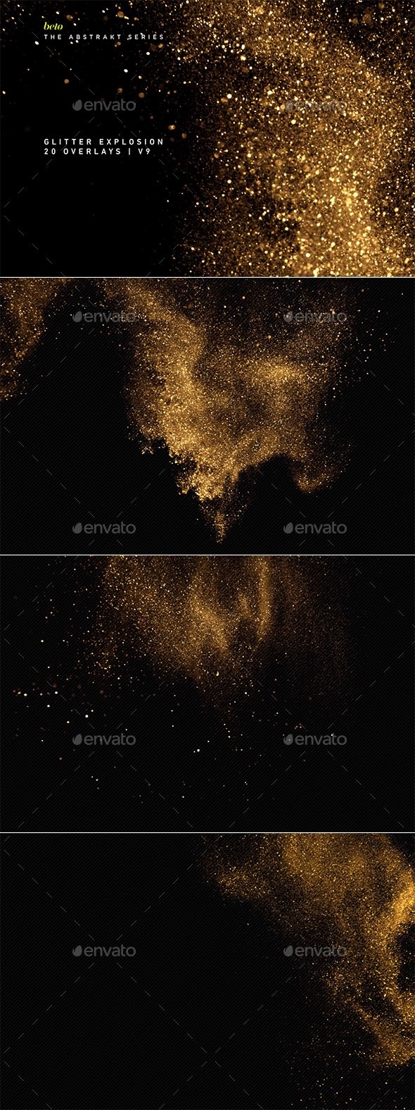 Glitter Explosion V9 - Abstract Backgrounds