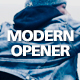 Acapella Modern Opener - VideoHive Item for Sale