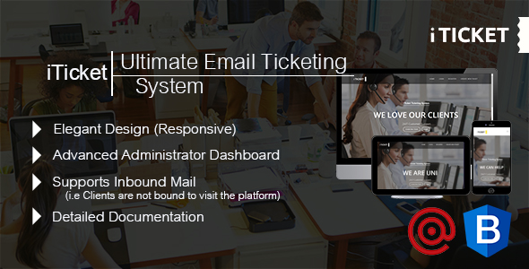 Ultimate Email Ticketing System - iTicket - CodeCanyon Item for Sale