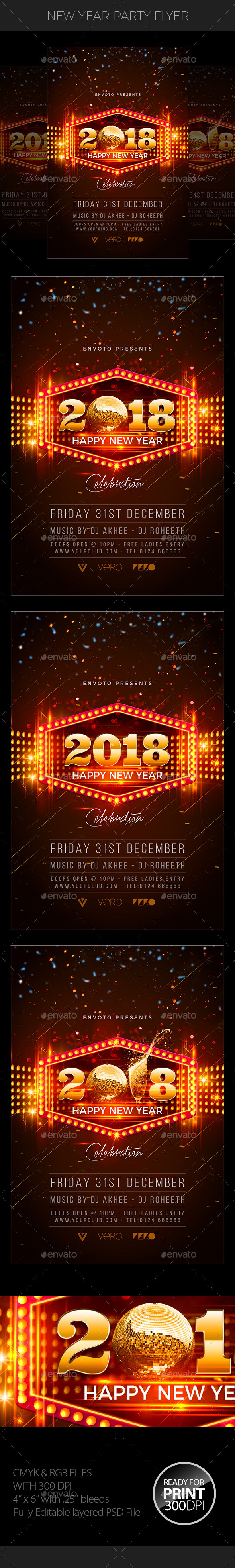 GraphicRiver New Year 20920274