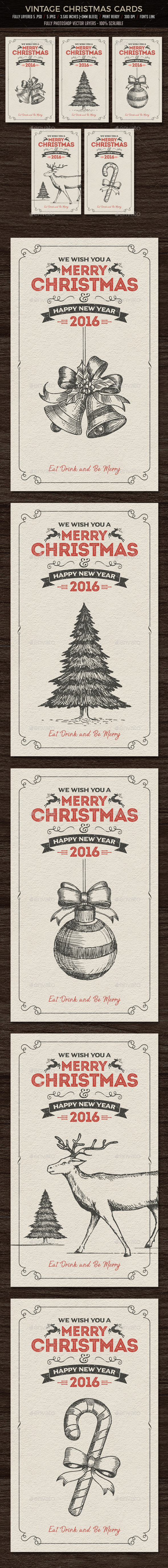 GraphicRiver Christmas Cards Invitation 20920305