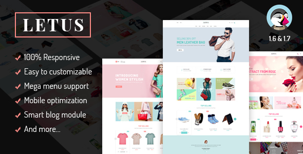 JMS Letus - Responsive Prestashop Theme - Fashion PrestaShop