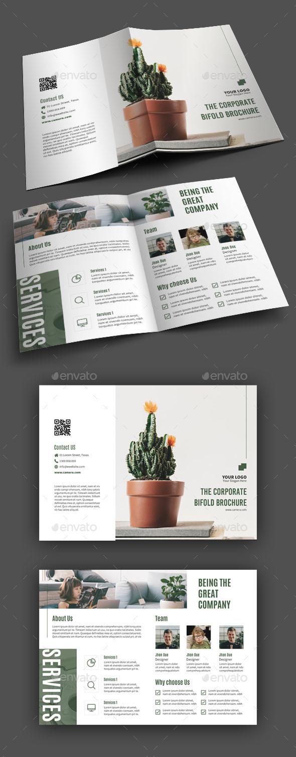 GraphicRiver Bifold Brochure 20920353