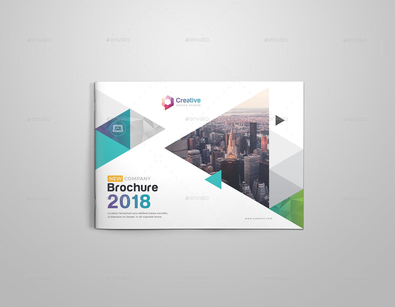Landscape Brochure Template by generousart | GraphicRiver