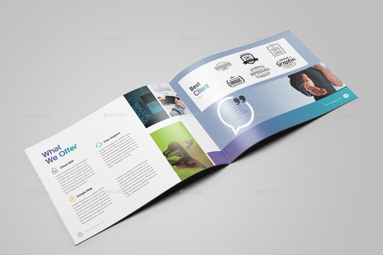 Landscape Brochure Template By Generousart GraphicRiver - Landscape brochure template