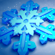 Big Snowflake Background - VideoHive Item for Sale