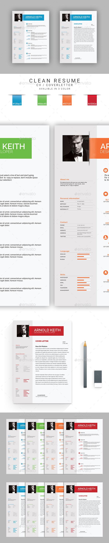GraphicRiver Resume 20920835