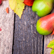 Thanksgiving background with autumn fruits - PhotoDune Item for Sale