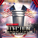 Election Day Flyer - GraphicRiver Item for Sale