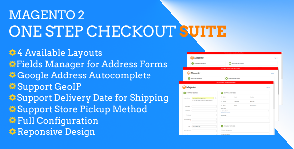 CodeCanyon Magento 2 One Step Checkout Suite 20920908
