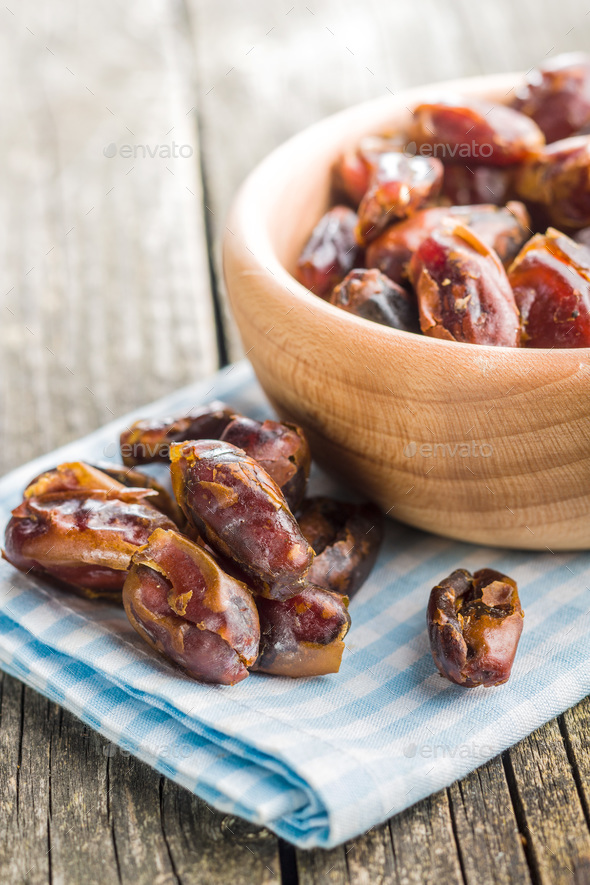 Sweet dates without stones. - Stock Photo - Images