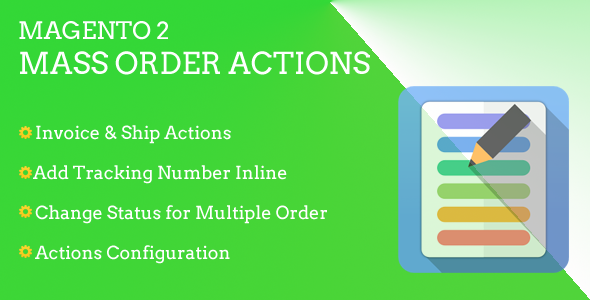Magento 2 Mass Order Actions - CodeCanyon Item for Sale