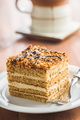 Cake with walnuts and honey. - PhotoDune Item for Sale