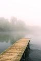Wooden floating dock on river Ardas, Greece - PhotoDune Item for Sale