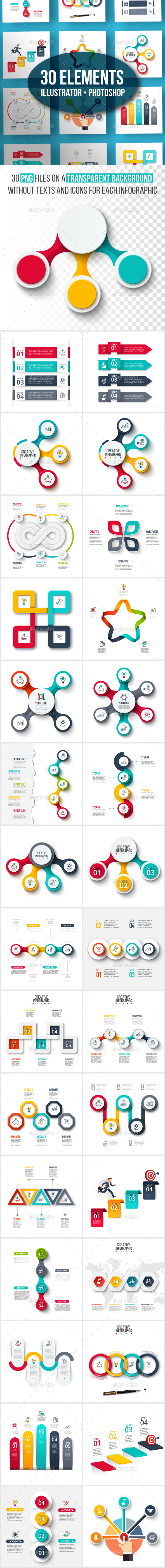 GraphicRiver Creative infographic pack v.02 20921190