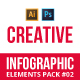 Creative infographic pack v.02