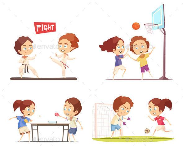 Kids Sport 2x2 Design Concept - Sports/Activity Conceptual
