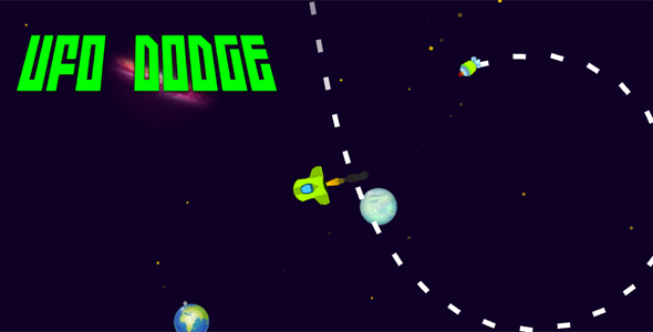 CodeCanyon UFO Dodge Classic Arcade Game Unity Based iOS Android 20921290
