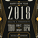 New Year Flyer Template V8 - GraphicRiver Item for Sale