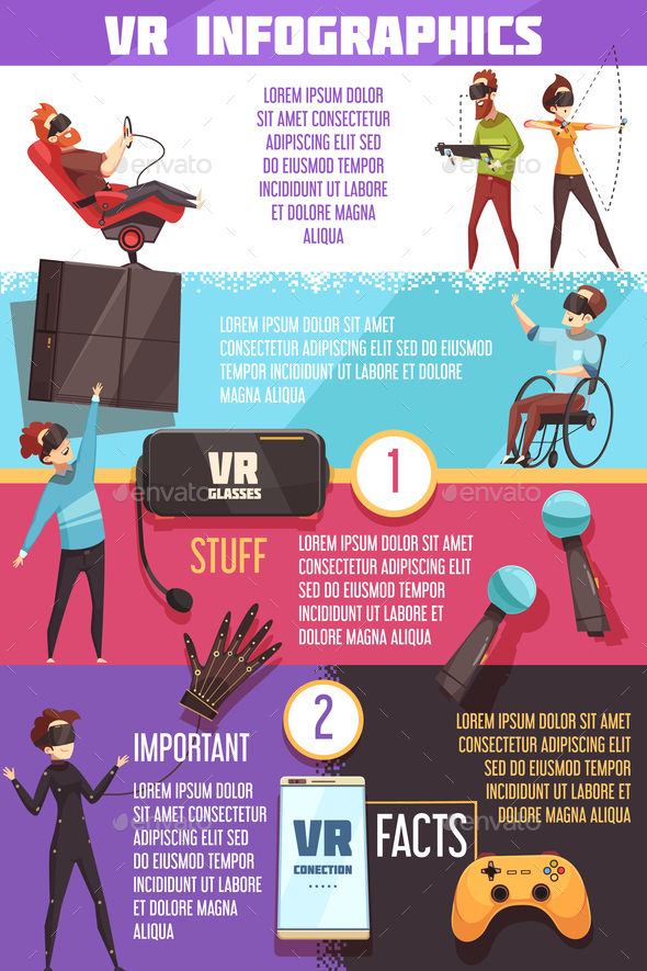 GraphicRiver Virtual Reality VR Infographic Poster 20921372