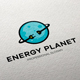Energy Planet Logo - GraphicRiver Item for Sale