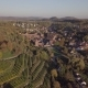 Aerial of Maulbronn Old Town and Vineyards in Germany - VideoHive Item for Sale